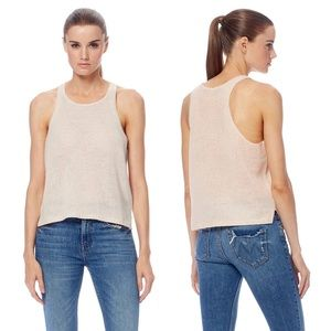 360 Cashmere Isabel Sleeveless Knit Top Blouse